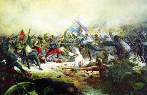 Боят при Стара Загора - спасяването на Самарското знаме